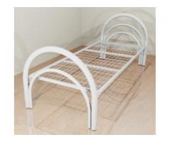 Со спинками из ДСП металлические кровати и кровати с ламелями