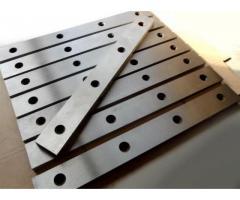 Ножи для гильотинных Н3118 550х60х20мм с М12 в наличии только из инструментальной легированной стали